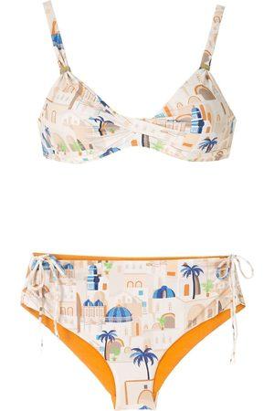 Lygia & Nanny Marcela print bikini set