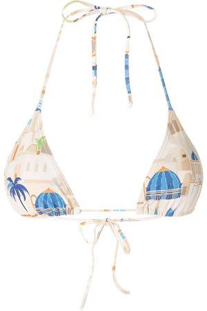 Lygia & Nanny Lido print bikini top