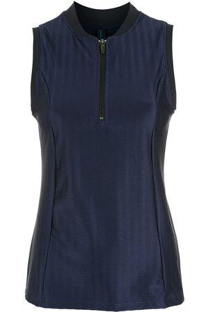 Lygia & Nanny Zip-front blouse