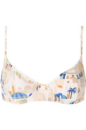 Lygia & Nanny Fiji print bikini top