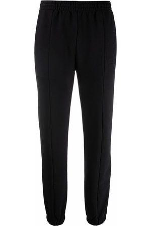 Vetements Elasticated-waist cotton-blend track trousers