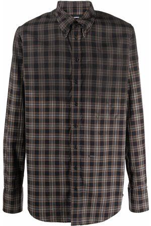 Dsquared2 Plaid check pattern shirt