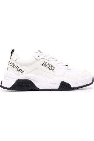 VERSACE Logo-print chunky sneakers