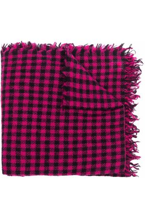 Faliero Sarti Check-print scarf