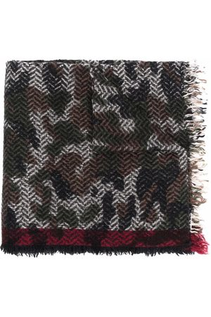 Faliero Sarti Camouflage-print scarf