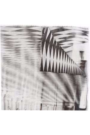 Faliero Sarti Gradient-effect scarf