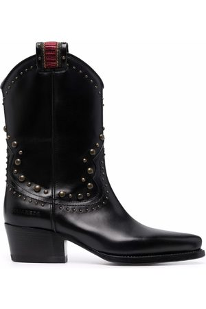 Dsquared2 Studded mid-heel boots