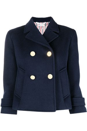 Thom Browne Notched-lapel double-breasted jacket