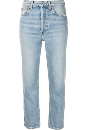 RE/DONE Comfort Stretch cropped jeans