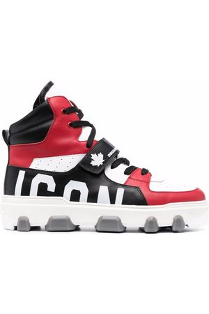 Dsquared2 Panelled high-top sneakers