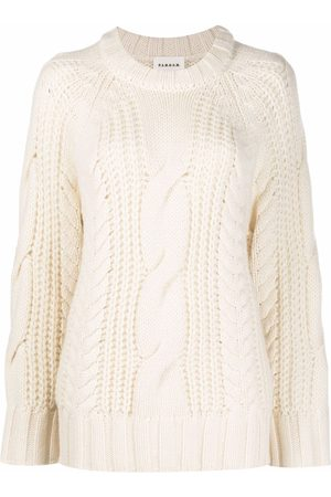 P.a.r.o.s.h. Cable-knit jumper