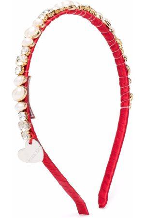 MONNALISA Gem-embellished hairband