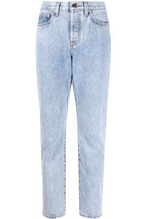 WARDROBE.NYC Light-wash boyfriend jeans