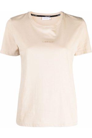 Calvin Klein Logo-print short-sleeved T-shirt
