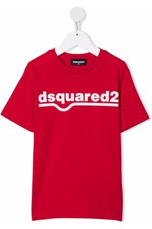 Dsquared2 Kids Logo crew-neck T-shirt