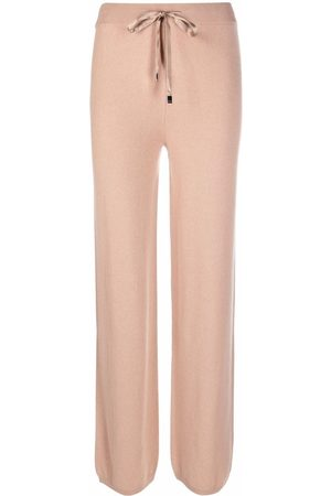 PESERICO SIGN Drawstring straight trousers