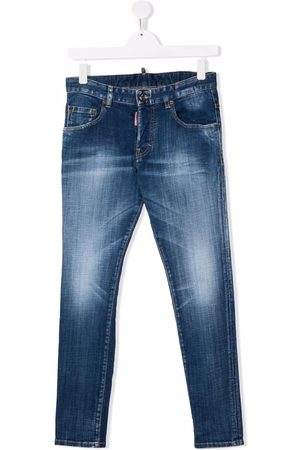 Dsquared2 TEEN faded skinny jeans