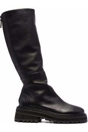 MARSÈLL Chunky-sole leather boots