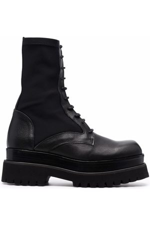 Paloma Barceló Alizee lace-up leather boots