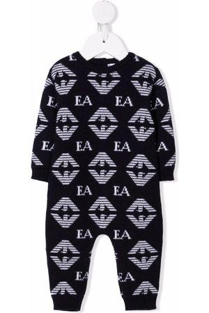Emporio Armani Monogram-intarsia pajamas