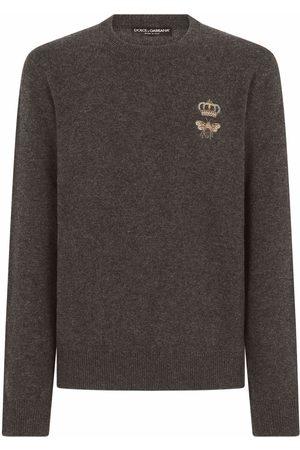 Dolce & Gabbana Embroidered virgin wool jumper