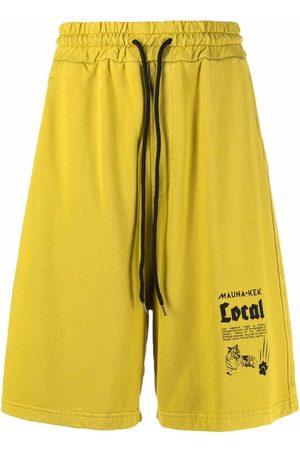 MAUNA KEA Logo-printed shorts