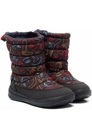 Camper Ergo Ergo abstract-print snow boots