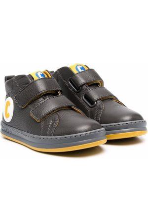 Camper Logo appliqué touch-strap boots