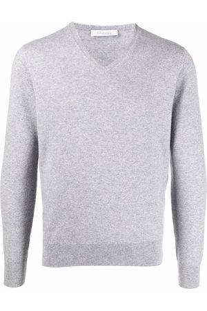 Cruciani V-neck cashmere jumper