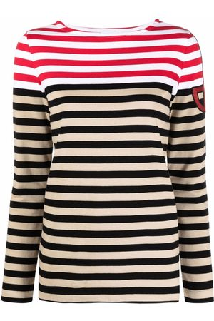 Patou Stripe print longsleeved T-shirt
