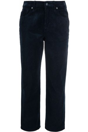 7 For All Mankind The Modern cropped corduroy trousers