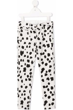 Stella McCartney Dalmatian spots corduroy trousers