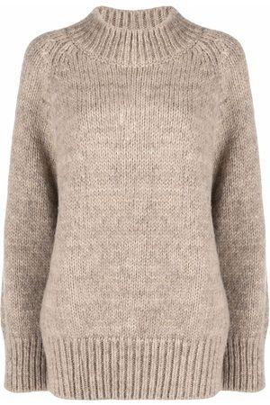 Maison Margiela High neck knitted jumper
