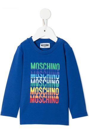 Moschino Logo-print longsleeved T-shirt