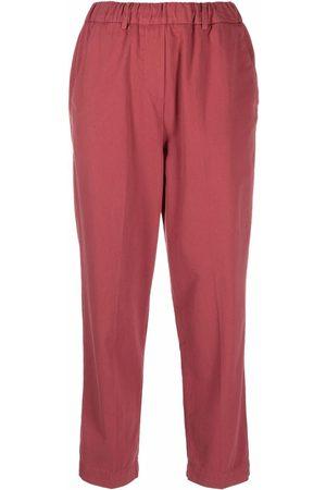 ALYSI Straight-leg cotton trousers