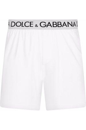 Dolce & Gabbana Men Boxer Shorts - Logo-waistband boxer shorts