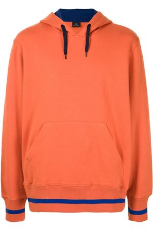 PS Paul Smith Rear logo-patch hoodie