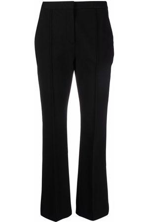Aspesi Piped-trim slim trousers
