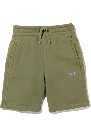 Off-White Kids OFF stamp shorts