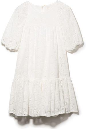 ZIMMERMANN Broderie-anglaise smock dress