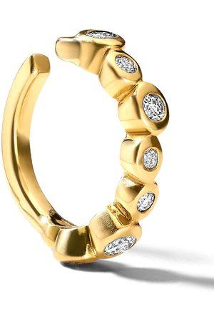Ippolita 18kt yellow diamond Starlet ear cuff