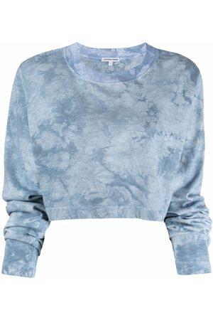 Cotton Citizen Tie dye-print cropped T-shirt