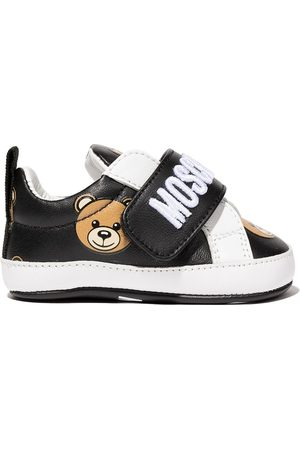 Moschino Teddy bear touch strap sneakers