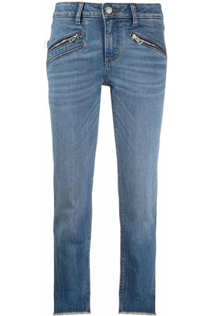 Zadig & Voltaire Ava slim-cut cropped jeans