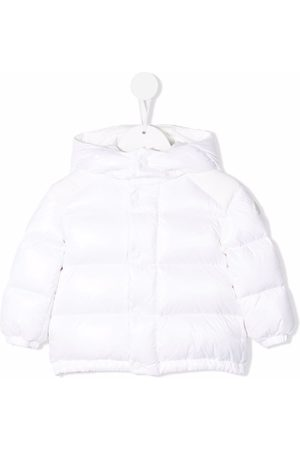 Moncler Baby Jackets - Feather-down padded puffer jacket