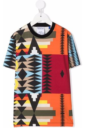 MARCELO BURLON Navajo-print T-shirt
