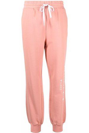 TWINSET Side-logo jogging trousers