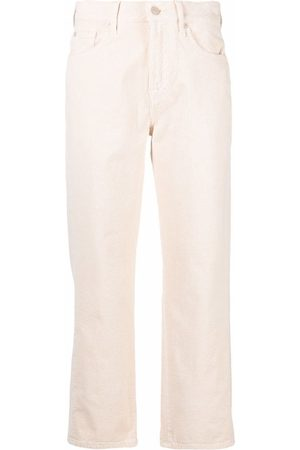 7 for all Mankind Cropped straight-leg trousers