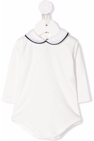 LITTLE BEAR Baby Rompers - Peter Pan collar cotton body