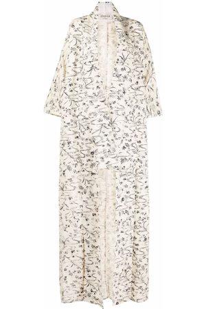 A.N.G.E.L.O. Vintage Cult Women Coats - 1970s floral-print cotton coat